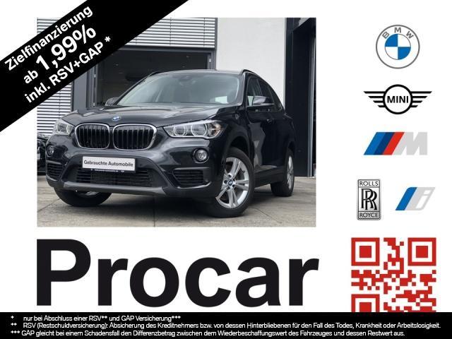 BMW X1 xDrive20i Aut. LED DA+ HuD Navi+ PDC vo + hi, Jahr 2018, Benzin