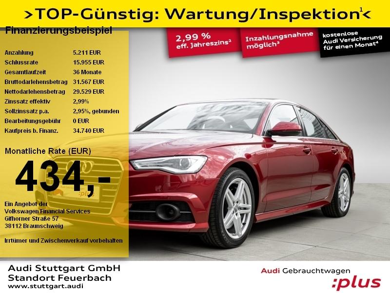Audi A6 Limo 3.0 TDI quattro Standheizung AHK Navi, Jahr 2018, Diesel