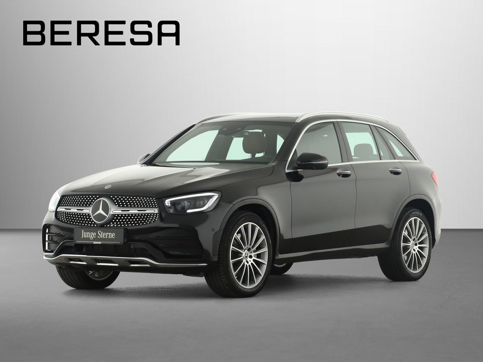 Mercedes-Benz GLC 300 4M AMG HUD Burmester Fahrassist., Jahr 2019, Benzin