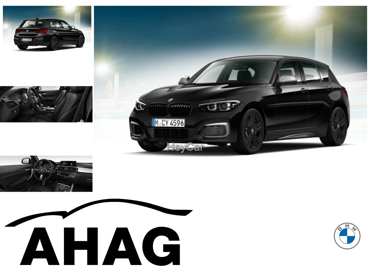 BMW M140i xDrive Navi Prof.*Sport Aut.*Hifi*Alarm, Jahr 2017, Benzin