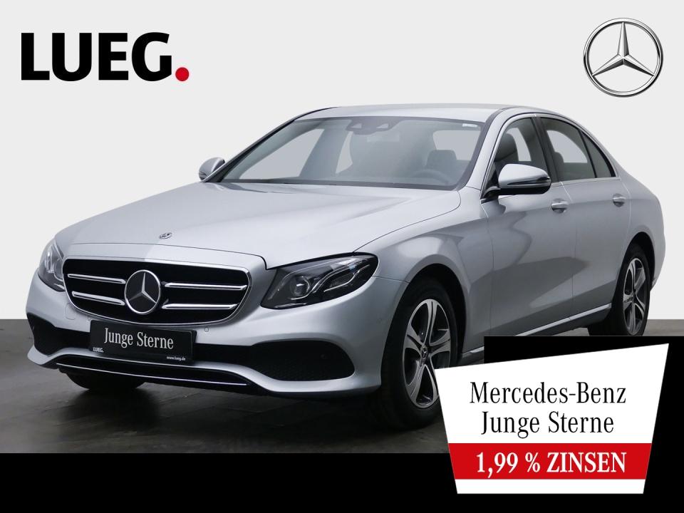 Mercedes-Benz E 220 d 4M Avantgarde+Navi+Mbeam+DistrP+CarP+RFK, Jahr 2019, Diesel