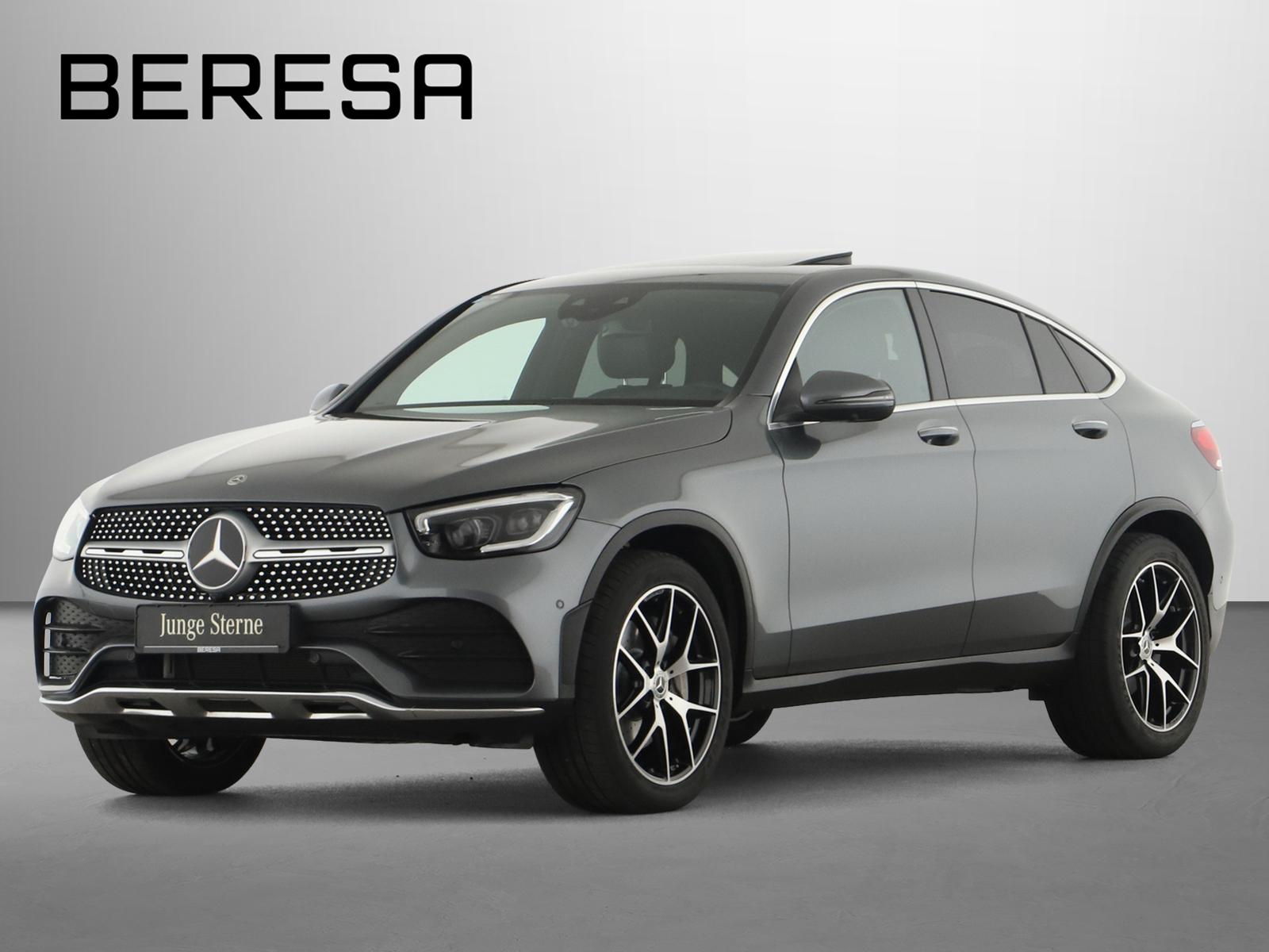 Mercedes-Benz GLC 300 d 4M Coupé AMG Distronic SHD MBUX 360°, Jahr 2019, Diesel