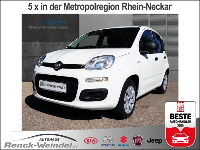 Fiat Panda Pop 1.2 NR Klima ESP Scheckheft Gar. Airb ABS Servo ZV eFH Beif.- Airb. WFS Kopfairbag, Jahr 2016, petrol
