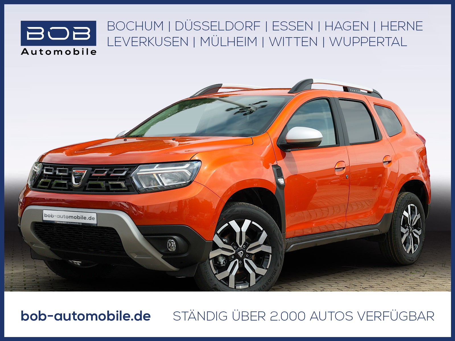 Dacia Duster Prestige TCe 150 EDC SHZ NAVI Kamera, Jahr 2021, Benzin