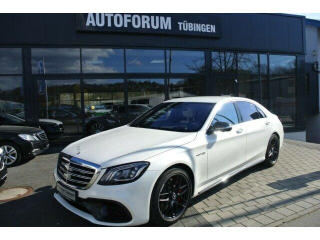 Mercedes-Benz S 63 4MATIC+ L *Exklusiv P.*Carbon*Vmax*Night P*, Jahr 2017, Benzin