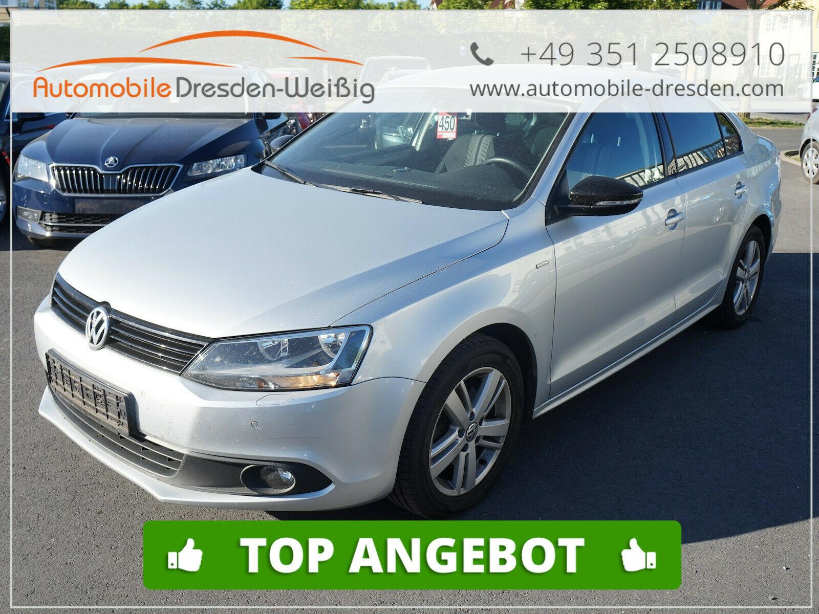 Volkswagen Jetta 1.4 TSI Match DSG*Teilleder*, Jahr 2012, Benzin