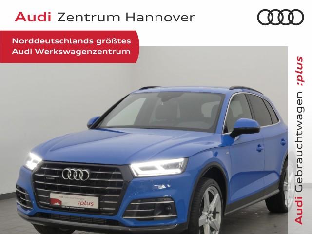 Audi Q5 55 TFSI e qu. sport, S-line, Matrix, virtual, ACC, Alcantara, Jahr 2020, Hybrid