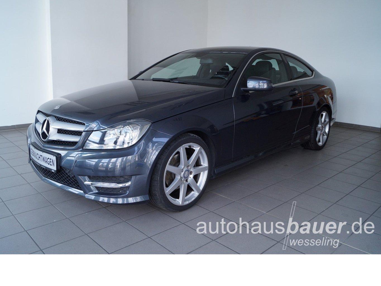 Mercedes-Benz C 180 Coupe CGI BlueEfficiency AMG *Navi, Park-Distance-Control, LED ..., Jahr 2013, Benzin