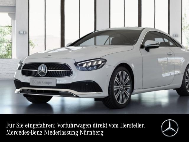 "Mercedes-Benz E 200 Coupé AVANTG+LED+Burmester+Kamera+19""+Totw, Jahr 2021, petrol"