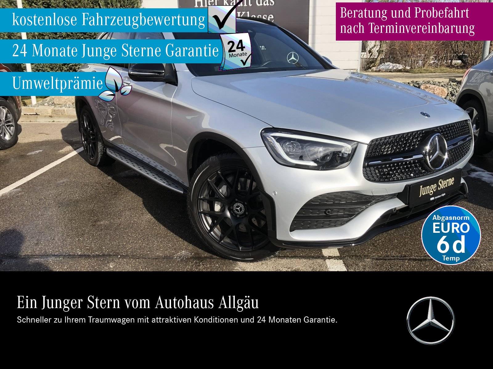 Mercedes-Benz GLC 400d4M AMGLine+Panodach+Burmester+Distronic+, Jahr 2020, Diesel