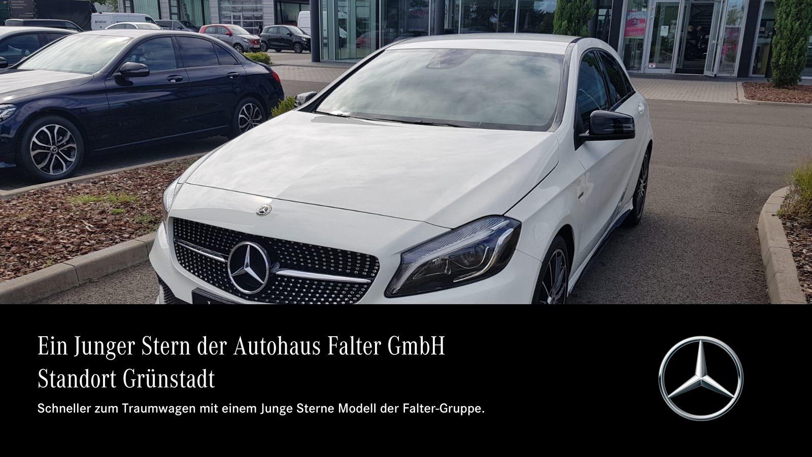 "Mercedes-Benz A 250 AMG Night LED Busines 8""Navi PTS Kamra SHZ, Jahr 2017, petrol"