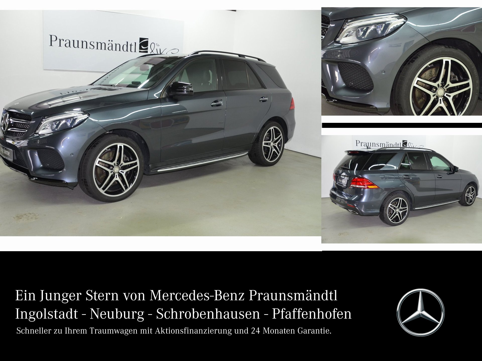Mercedes-Benz GLE 400 4M AMG Night Airmatic/360°/Distronic/PSD, Jahr 2015, Benzin