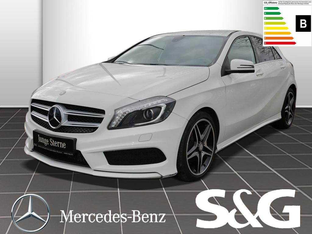 Mercedes-Benz A 200 CDI AMG-Line Memory Xenon RFK Spiegel-P., Jahr 2013, Diesel