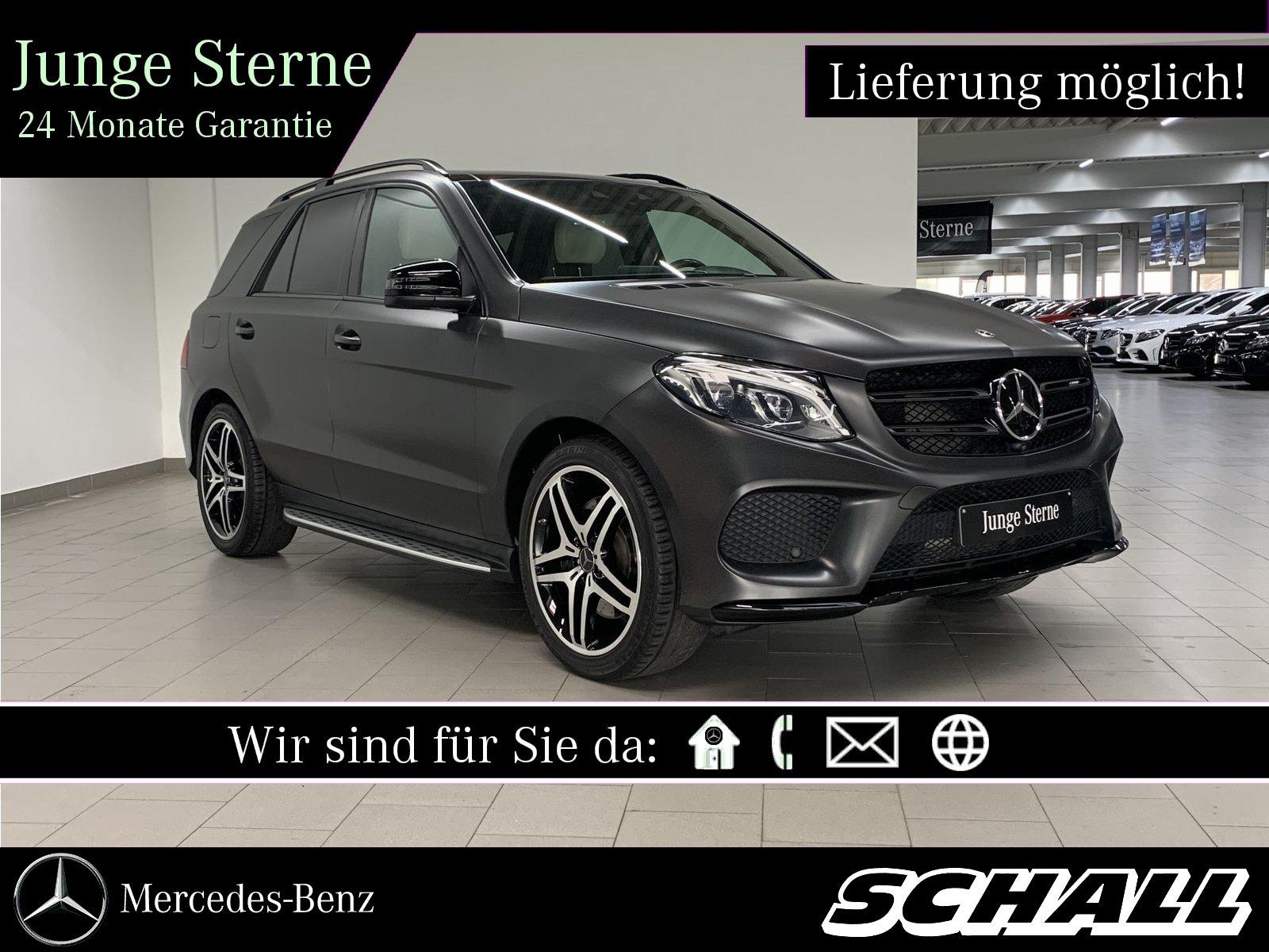 """Mercedes-Benz GLE 43 AMG 4M PANO+DISTR+AHK+21""""AMG+DESIGNO+AIR, Jahr 2017, petrol"""