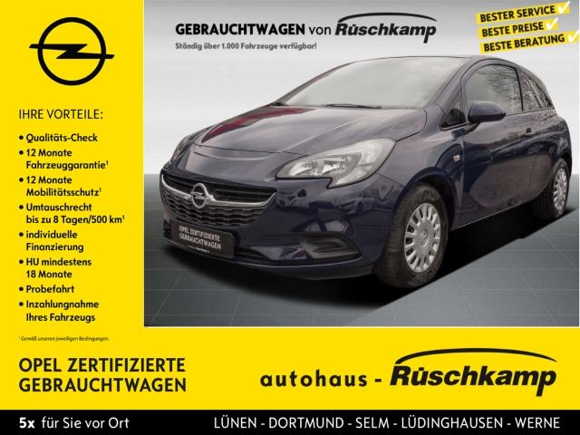 Opel Corsa E Selection 1.2 Klima ESP Seitenairb. Radio TRC Airb ABS Servo, Jahr 2016, Benzin