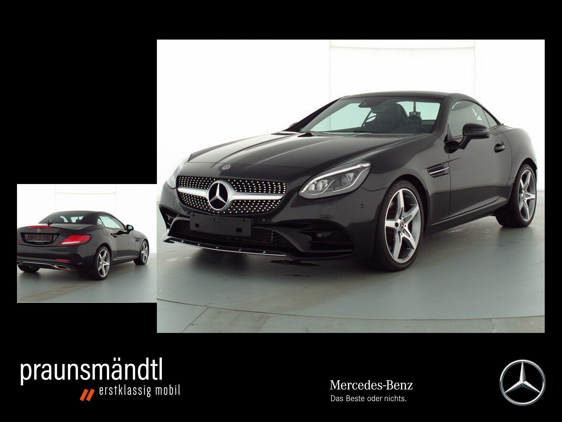 Mercedes-Benz SLC 300 AMG Comand/LED/PTS/Airscarf/SHZ/Memory, Jahr 2019, Benzin