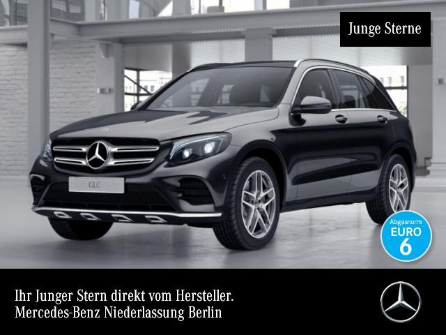 Mercedes-Benz GLC 350 d 4M AMG Pano ILS LED AHK Navi SpurPak PTS, Jahr 2017, Diesel