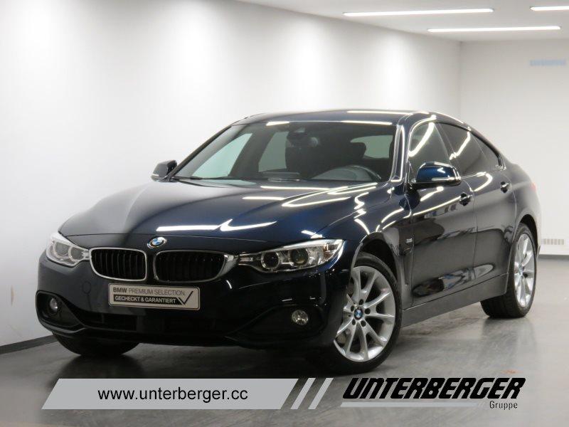 BMW 430d xDrive Gran Coupé Sport Line HK HiFi DAB, Jahr 2017, Diesel