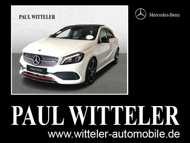 Mercedes-Benz A 250 Sport 4M AMG/LED/Navi/Panorama/Tempomat, Jahr 2017, Benzin