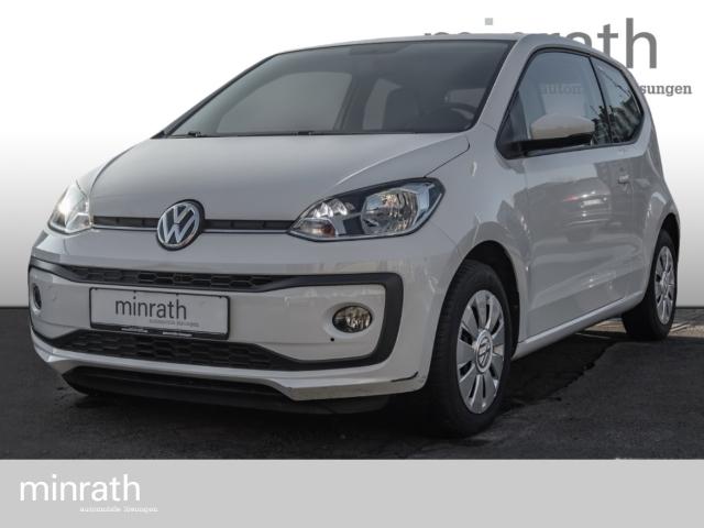 Volkswagen up! move 1.0 Klima SHZ USB ESP Spieg. beheizbar Seitenairb., Jahr 2017, Benzin