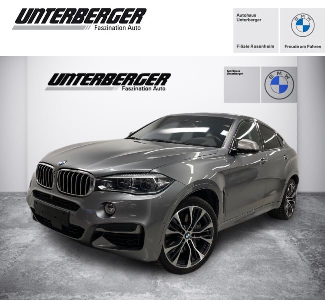 BMW X6 M50d M Sportpaket Head-Up HK HiFi DAB LED, Jahr 2018, Diesel