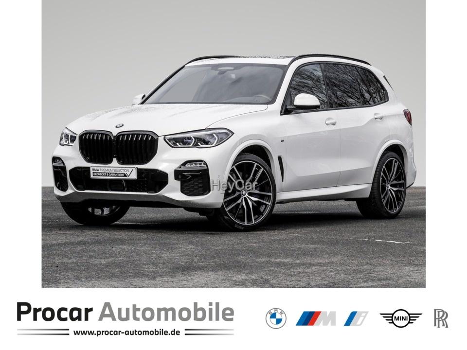 BMW X5 XD M-SPORT+HEAD-UP+PANO+AHK+HIFI+NAVI+22-ZOLL, Jahr 2020, Diesel