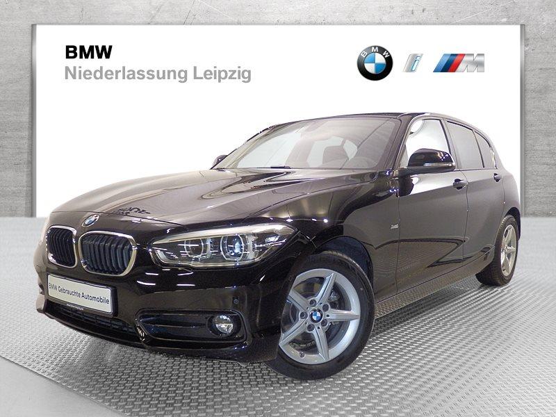 BMW 116i 5-Türer Sport Line EURO6 LED RFK Lenkradhz. Tempomat, Jahr 2017, Benzin