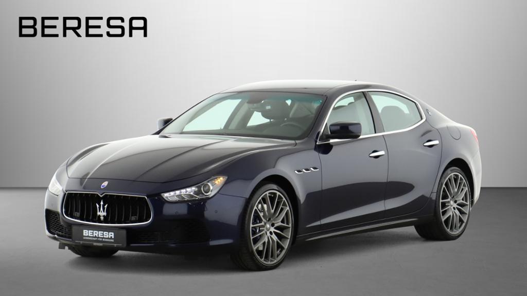Maserati Ghibli S Q4 LederBraun Navi PDC SHZ *blau* Xenon, Jahr 2014, Benzin