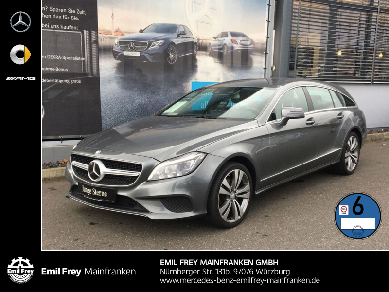 Mercedes-Benz CLS 350 SB d 4M+FahrAss+Beam+AHK+HiFi+COMAND, Jahr 2015, Diesel
