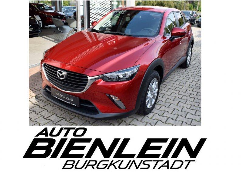 Mazda CX-3 2.0 120PS Kizoku AHK Sitzheizung Cruisematic Navi uvm., Jahr 2017, Benzin