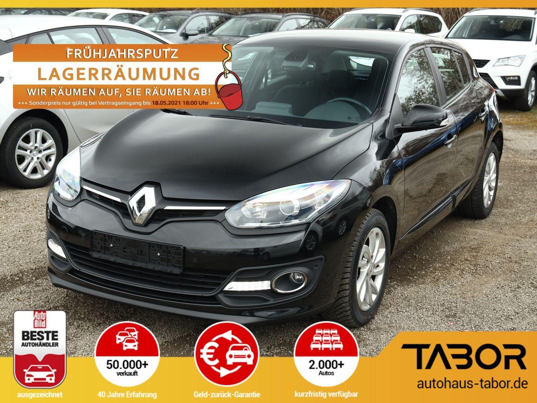 Renault Megane 1.2 TCe 115 Paris DeLuxeP Nav SHZ Temp, Jahr 2015, Benzin