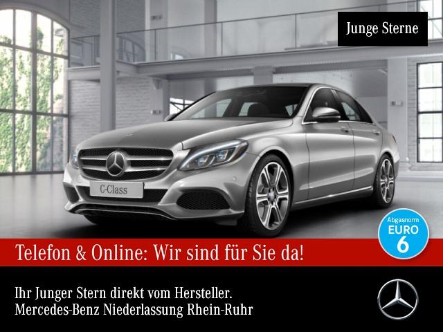 Mercedes-Benz C 400 4M Avantgarde 360° Airmat Burmester Distr+, Jahr 2015, Benzin