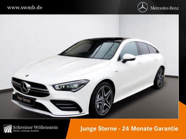 Mercedes-Benz AMG CLA 35 4M SB Pano*AHK*MBUX*Kamera*Multibeam*, Jahr 2020, Benzin