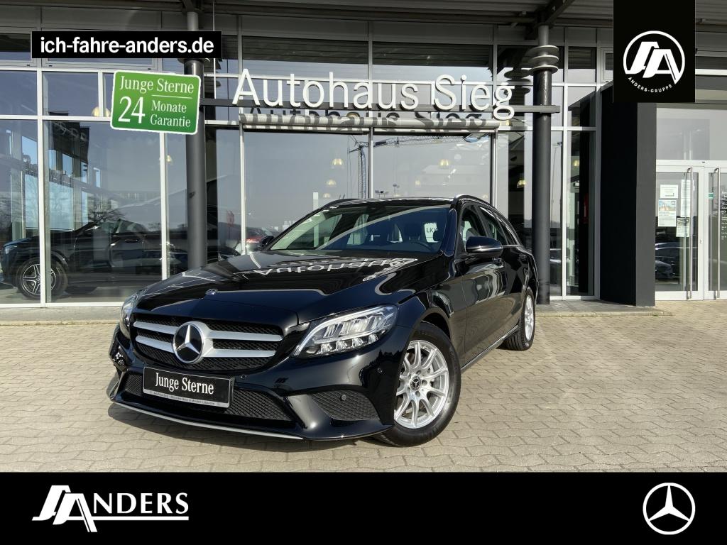 Mercedes-Benz C 180 d T Navi+SHZ+LED+Kamera+PDC+Tempomat+Apple, Jahr 2019, Diesel
