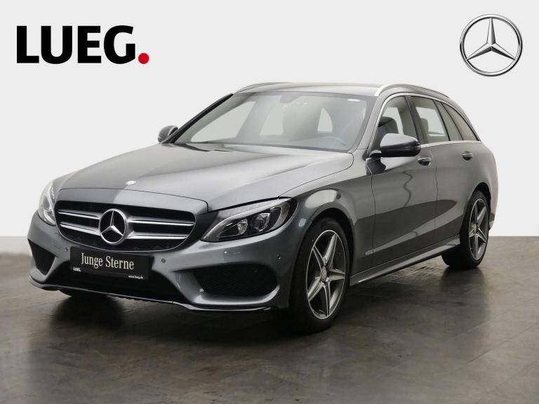 Mercedes-Benz C 180 T AMG+Navi+LED-HP+AHK+BusinessP+ParkAssist, Jahr 2016, Benzin
