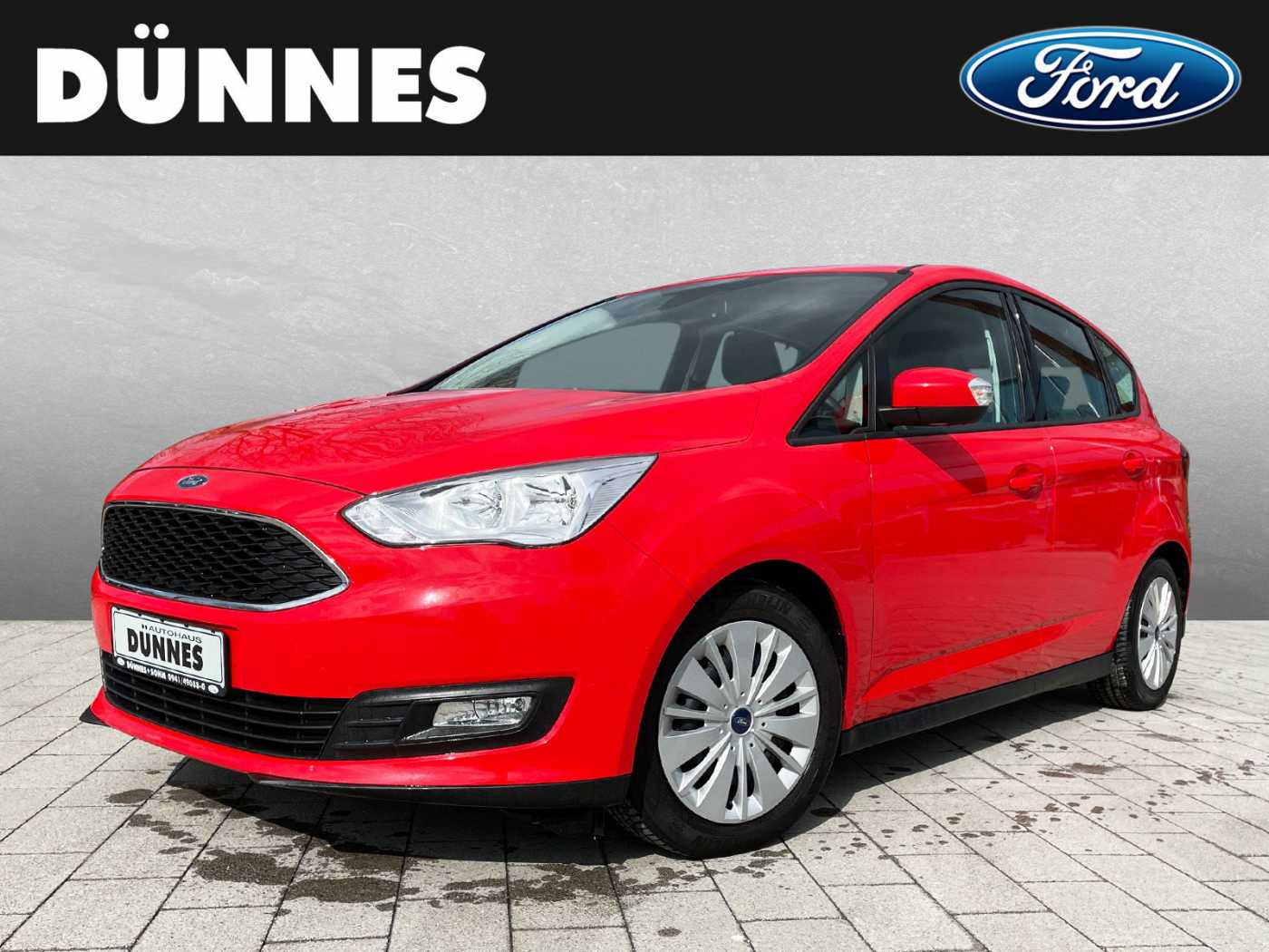 Ford C-Max 1.0 EcoBoost COOL & CONNECT, Jahr 2017, Benzin
