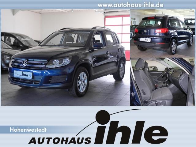 Volkswagen Tiguan 2,0 TDI Trend and Fun AHK+Climatronic+PDC, Jahr 2013, Diesel