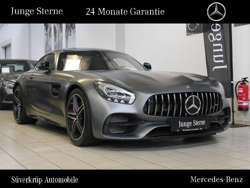 Mercedes-Benz AMG GT C NIGHT+DISTRO+LED+PANO+KAMER+MEMORY+SPUR, Jahr 2018, Benzin