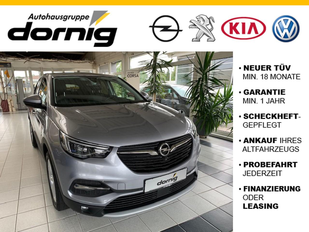 Opel Grandland X Innovation, AHK, Navi, Jahr 2018, Benzin