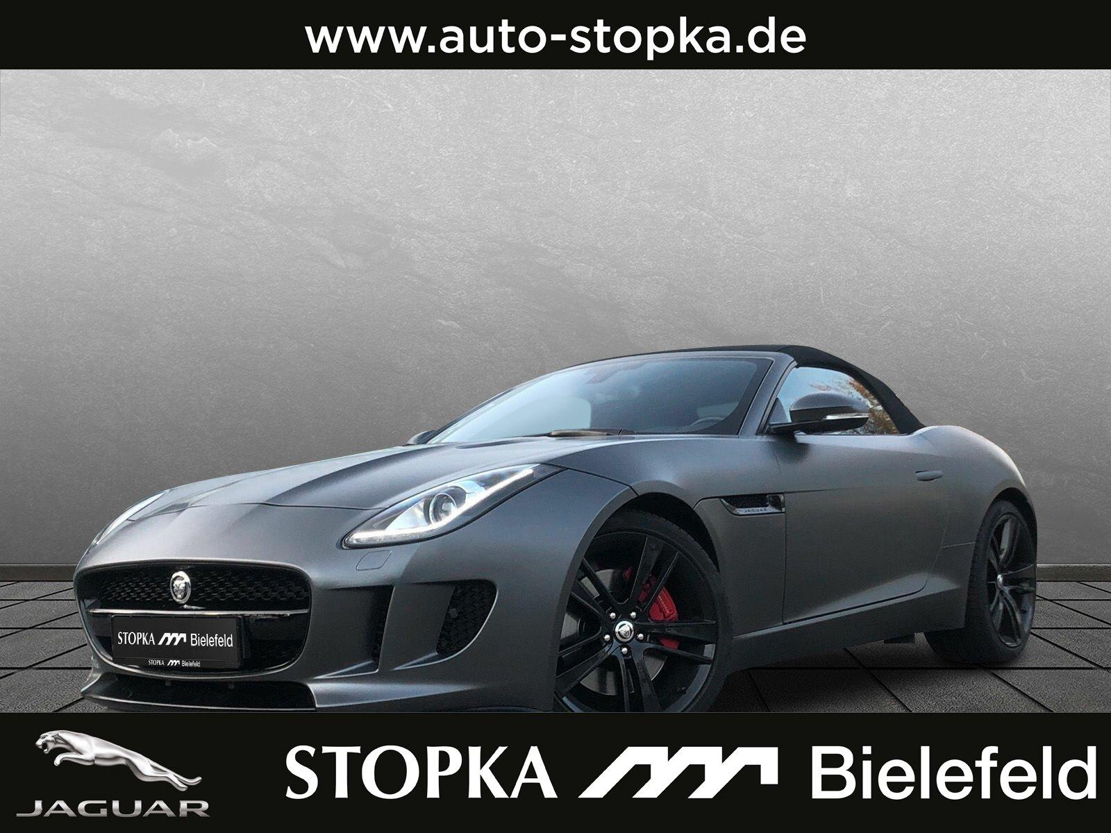"Jaguar F-Type 3.0 V6 Cabrio Black-Pak*Tech-Pak.*20""*SHZ, Jahr 2014, petrol"