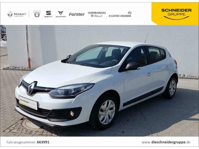 Renault Megane 1.6 16V 110 Authentique KLIMA, Jahr 2014, Benzin