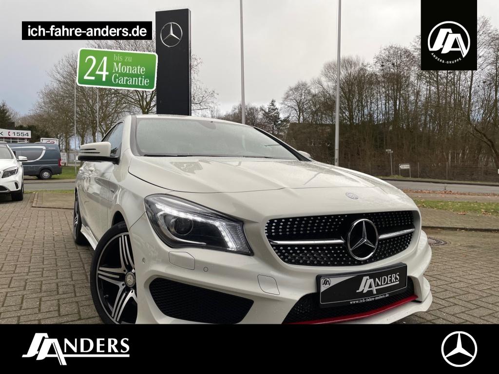 Mercedes-Benz CLA 250 Sport AMG+Navi+SHZ+LED+Bi-Xenon+SpiegelP, Jahr 2015, Benzin