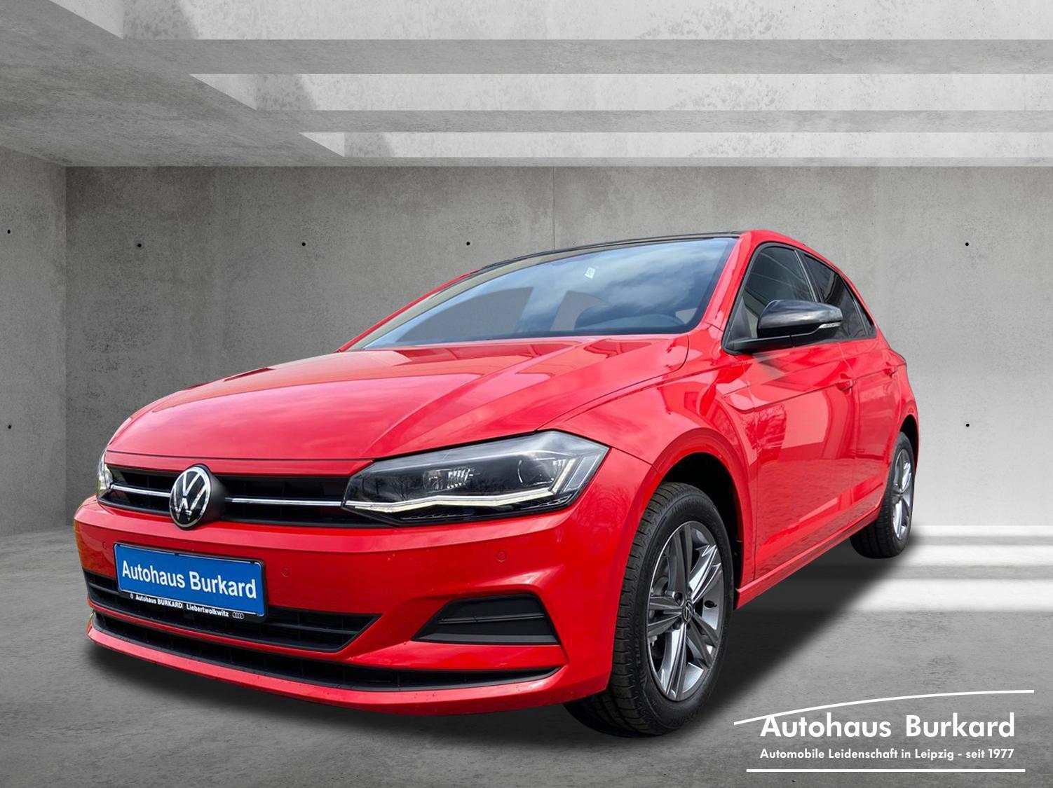 Volkswagen Polo United 1.0 TSI 95 PS ACC, Jahr 2021, Benzin