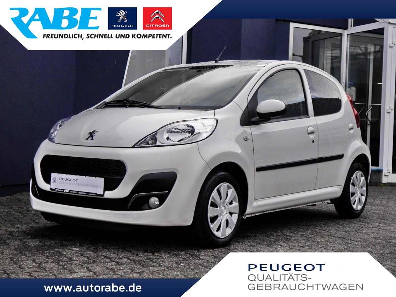 Peugeot 107 Active 68 VTi Klima+Privacy-Glass+5-Türer, Jahr 2012, petrol