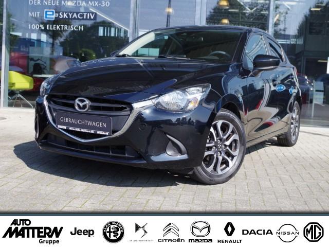 Mazda 2 SKYACTIV-G 75 Kizoku Navi Klimaautomatik Sitzheizung, Jahr 2017, Benzin