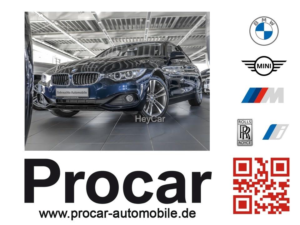 BMW 420 Gran Coupe D Sport Line Navi Xenon Leder HIFI, Jahr 2016, Diesel