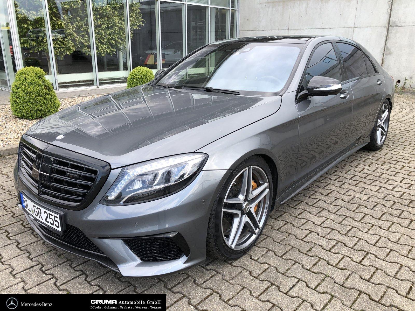 Mercedes-Benz S63 L 4M HeadUp Pano Massage Sitzklima Standheiz, Jahr 2016, Benzin