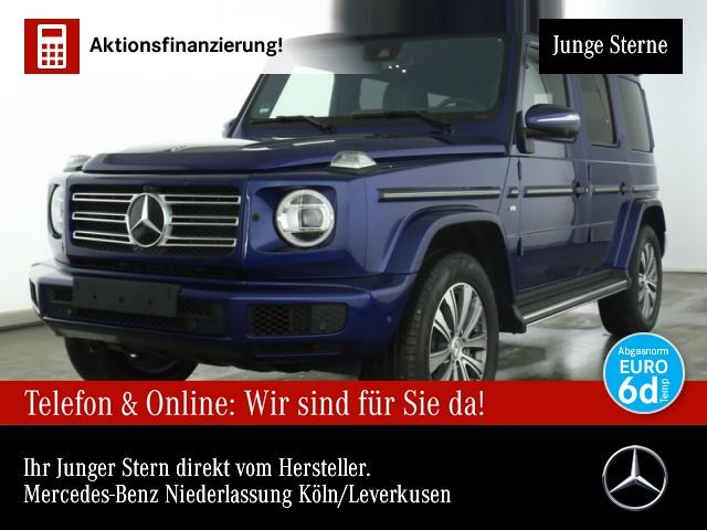 Mercedes-Benz G 500 SR2 Exclusiv SHD Burmester Widescreen AHK, Jahr 2020, Benzin