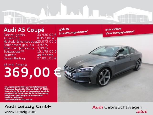 Audi A5 Coupe 40 TFSI S-tr. *S-line*LED*Magnetic Ride*, Jahr 2019, Benzin