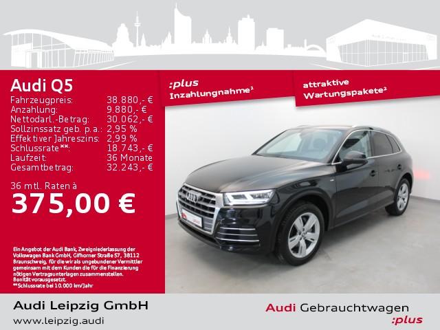 Audi Q5 2.0TDI sport quattro *S line*virtual cockpit*, Jahr 2019, Diesel